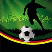 Link toFootball night posters background vector free