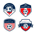 Link toFootball team badge vector