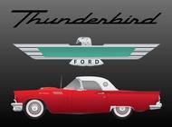 Link toFord thunderbird vector free