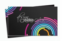 Link toForeign business card design template vector graphic