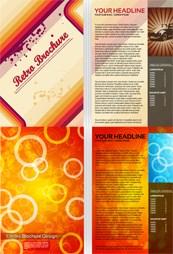 Link toForeign format brochure vector