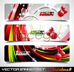 Link toForeign holiday banner vector