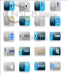 Link toForeign web2.0 sites icon