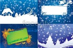 Link toFour christmas vector illustration