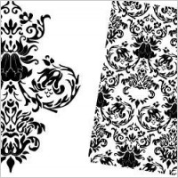 Link toFree baroque floral vector pattern