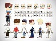 Link toFree boy cartoons vector