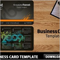 Link toFree business card template psd