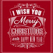 Link toFree creative xmas red background graphics