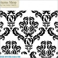 Link toFree damask repeat pattern