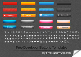 Link toFree developer buttons templates