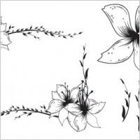 Link toFree floral clip art vector