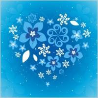 Link toFree flower heart vector art