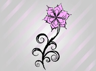 Link toFree flower vector drawing