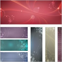 Link toFree flowery vector backgrounds