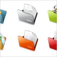 Free folder icons icons pack