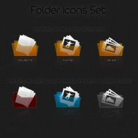 Link toFree folder icons set preview