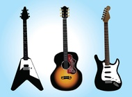 Link toFree guitar vector graphics