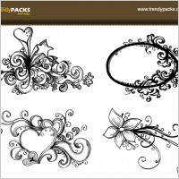 Link toFree hand drawn vector ornaments