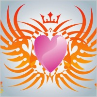 Link toFree heart vector graphics
