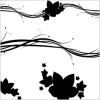 Link toFree horizontal floral ornaments