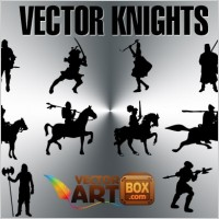 Link toFree knights silhouettes