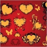 Link toFree love heart vector art decoration