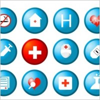 Link toFree medical and health vector icons