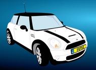 Link toFree mini cooper car vector