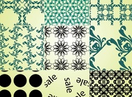 Free patterns vector