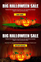 Link toFree psd advertisement poster - halloween template