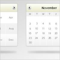 Link toFree psd calendar mockup