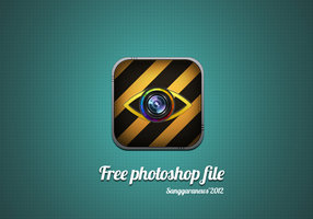 Link toFree psd file, photography logo