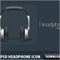 Link toFree psd headphone icon