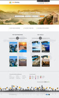 Link toFree psd hotel booking webtemplate
