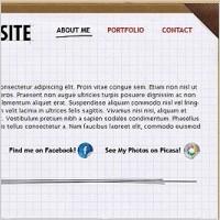 Link toFree psd portfolio layout