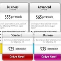 Link toFree psd price box templates