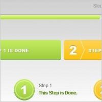 Link toFree psd progress tracker bars
