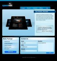 Link toFree psd webhost design