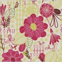 Link toFree retro floral pattern seamless background vector