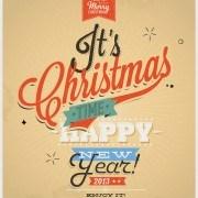 Link toFree retro style christmas background design 02