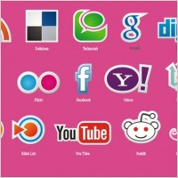 Link toFree social icons vector set
