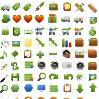 Link toFree stock vector iconset icons pack