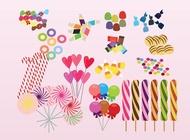 Link toFree sweets vectors