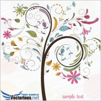Link toFree tree vector illustration