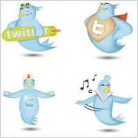 Link toFree twitter icon set