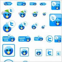Link toFree twitter icons icons pack