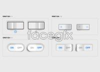 Link toFree ui toggle switches