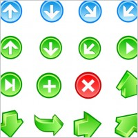 Link toFree vector arrow icons
