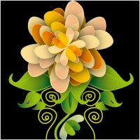 Link toFree vector art flower