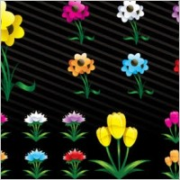 Link toFree vector art flowers